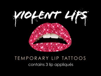 Violent Lips - The Red Glitterati // $10.00