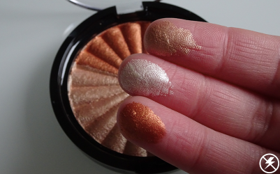 Ofra x NikkieTutorials Everglow Highlighter_Finger Swatches (No Flash)