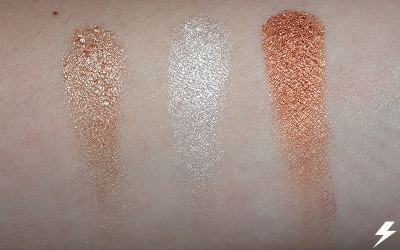 Ofra x NikkieTutorials Everglow Highlighter Swatches (Flash)