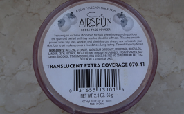 Coty Airspun Loose Face Powder (Translucent Extra Coverage) Back