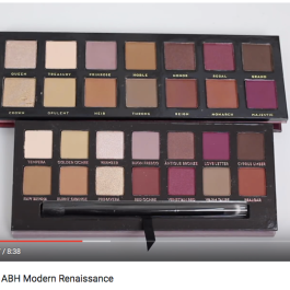 Battle of the Dupes: ABH Modern Renaissance // Drugstore Maven