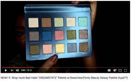 """NEW!! fr. Shop Hush-Bad Habit """"DREAMSTATE"""" Palette w/Swatches!(Fenty Beauty Galaxy Palette Dupe??) // Sucre Jewel"""