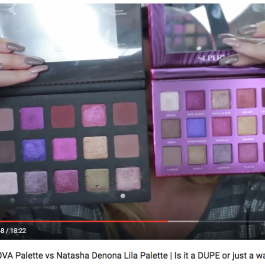 Bad Habit SUPERNOVA Palette vs Natasha Denona Lila Palette | Is it a DUPE or just a waste of money // Hot Mess Mamma MD