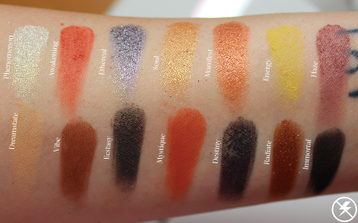 Bad Habit Aura Swatches No Flash