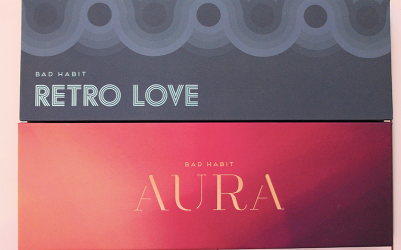 Bad Habit Retro Love & Aura Palettes Cover