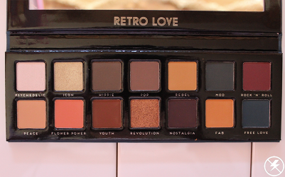 Bad Habit Retro Love Eyeshadows No Flash