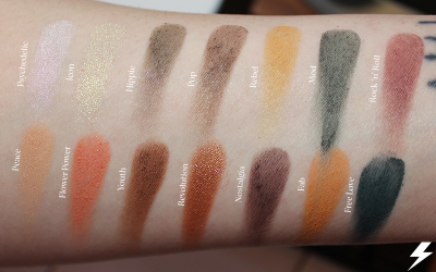 Bad Habit Retro Love Swatches Flash