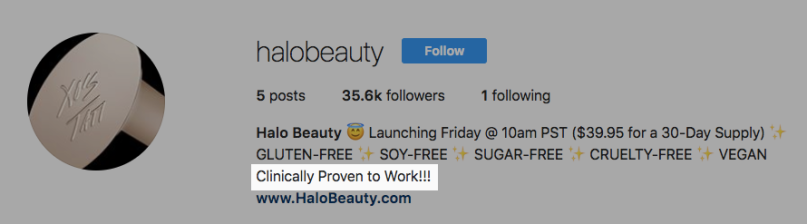 Halo Beauty Instagram