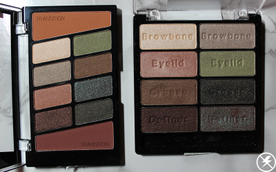 Old vs. New WnW Comfort Zone Palette No Flash