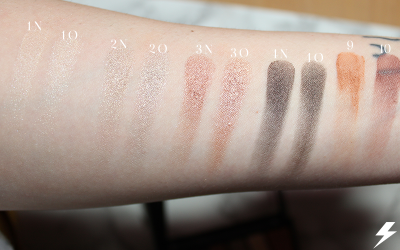 Old vs. New WnW Comfort Zone Palette Swatches 1 Flash