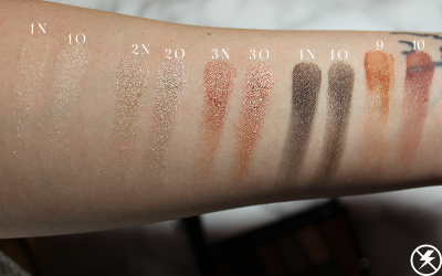 Old vs. New WnW Comfort Zone Palette Swatches 1 No Flash