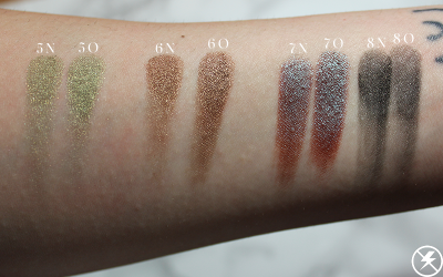 Old vs. New WnW Comfort Zone Palette Swatches 2 No Flash