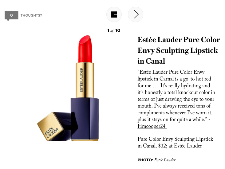 StyleCaster // The 9 Best Lipsticks According to Makeup Experts