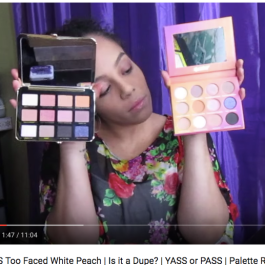 Face Candy Smoothie VS Too Faced White Peach | Is it a Dupe? | YASS or PASS | Palette Review | Christina Molina